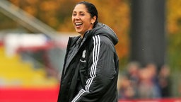 Fußball-Bundestrainerin Steffi Jones