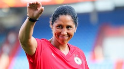 Frauenfußball-Bundestrainerin Steffi Jones